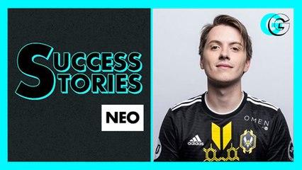 Néo, coach de l'équipe de France d'eFoot et fondateur de la team Vitality - Sucess Stories l GG