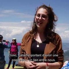"""4G Haute-Savoie - Témoignage de Julie Miot, gérante de """"Adrénaline Parapente"""""""