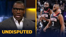 James Harden and Chris Paul cannot coexist on the Rockets — Shannon Sharpe - NBA - UNDISPUTED