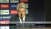 'Gabi' se despide del Atlético de Madrid