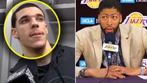 """Lonzo Ball CURSES OUT LEBRON JAMES """"You TRADED ME"""" - Anthony Davis IS EXCITED """"WE WILL WIN"""""""