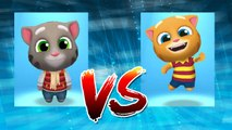 Frosty Tom vs Talking Ginger — Talking Tom Gold Run — Cute Puppy and Cats
