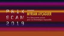 Prix Sonores de la Scam 2019