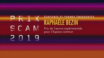 Prix Scam des Écritures et formes émergentes 2019