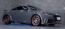 VÍDEO: Así ruge este Audi TT RS con escapes modificados de Armytrix, ¡pura fantasía!