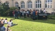 Caen. Fête de la musique au rectorat