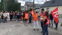 Vannes. Manifestation au conseil départemental
