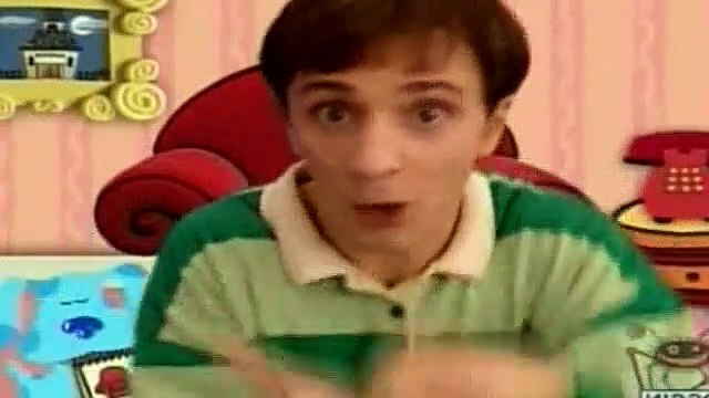 Blues Clues Season 1 Episode 18 - What Is Blue Afraid Of