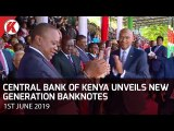 Central Bank unveils new generation banknotes to curb fraud