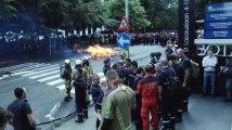 Les négociations dans l'impasse, les pompiers vers le PS