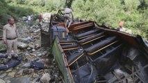 Al menos 44 muertos y 17 heridos en un accidente de autobús en la India