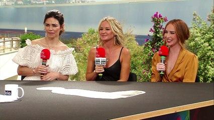 Série Talk, spéciale Les feux de l'amour avec Sharon Case, Amelia Heinle et Camryn Grimes