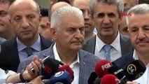 İSTANBUL- BİNALİ YILDIRIM PKK NE DEMİŞ, HDP NE DEMİŞ BİZİ İLGİLENDİRMEZ