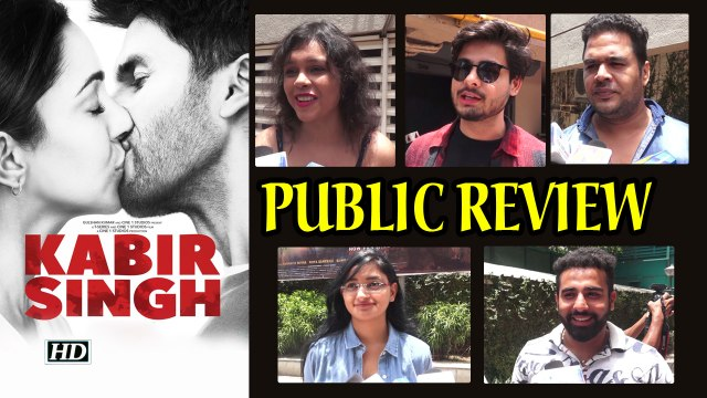 KABIR SINGH | PUBLIC REVIEW | Shahid Kiara LOVE STORY
