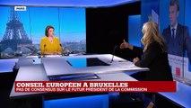 Conseil européen à Bruxelles : pas de consensus sur le futur président de la Commission