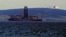 Yavuz Sondaj Gemisi Çanakkale Boğazı'na Giriş Yaptı