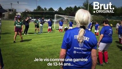 Elles jouent pour les Mamies foot, l'équipe de France des grands-mères
