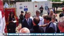 Grand Prix de France de F1 au Castellet : Christophe Castaner à visité le Centre Opérationnel de Sécurité (COD)