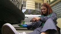 Watch: Classmates help aspiring mechanic shift into top gear with 3D-printed arm