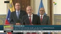 Alta comisionada de ONU cumple segundo día de visita a Venezuela