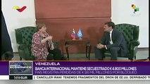 Venezuela expone efectos del bloqueo ante alta comisionada de DDHH