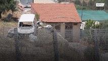 Solos en el lado equivocado de la barrera de separación de Israel