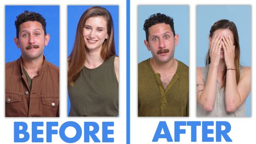 Interviewed Before and After Our First Date - Ashley & Julian