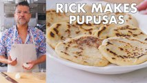Rick Makes Pupusas (Fried Corn Fritters)