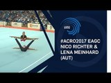 Nico RICHTER & Lena Meinhard (AUT) - 2017 11 - 16 Mixed pair final