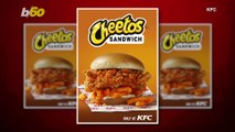 KFC Gone Cheesy! KFC Teams Up with Cheetos to Release New Sandwich