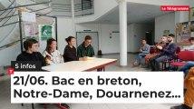 Le Tour de Bretagne en 5 infos - 21/06/19