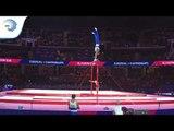 Axel AUGIS (FRA) - 2018 Artistic Gymnastics Europeans, qualification high bar