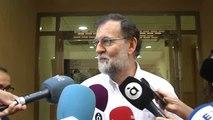 """Rajoy se incorpora al trabajo sin nervios: """"Vuelvo a donde estaba"""""""