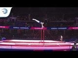 David RUMBUTIS (SWE) - 2018 Artistic Gymnastics Europeans, junior qualification horizontal bar