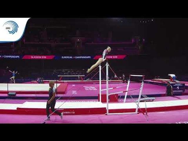 Isabella BOCKHAUS (DEN) - 2018 Artistic Gymnastics Europeans, junior qualification bars