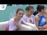 REPLAY - 2018 Trampoline Europeans - Junior Synchronised Finals