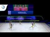 Israel - 2019 Rhythmic Gymnastics Junior European silver medallists, 5 ribbons