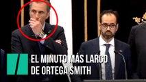 El minuto y medio más angustioso de Ortega Smith