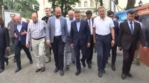 Cumhurbaşkanı Yardımcısı Fuat Oktay, Kapalı Çarşı'yı gezdi