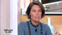 Alessandra Sublet revient sur son moment gênant avec Clotilde Courau
