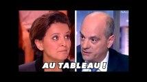 Les mauvaises notes de Najat Vallaud-Belkacem à Jean-Michel Blanquer
