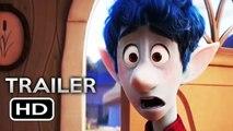 ONWARD Official Trailer (2020) Tom Holland, Chris Pratt Pixar Animated Movie HD