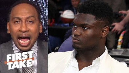 Zion isn't a superstar until he proves it with the Pelicans - Stephen A. - First Take