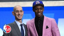 RJ Barrett drafted No. 3 by the Knicks, savors moment with father Rowan - 2019 NBA Draft