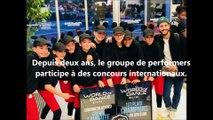 Huit danseurs du groupe Élite Street qualifiés au concours World of dance.