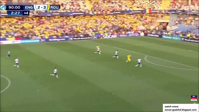 England U21 2-4 Romania U21 - Florinel Coman awesome goal