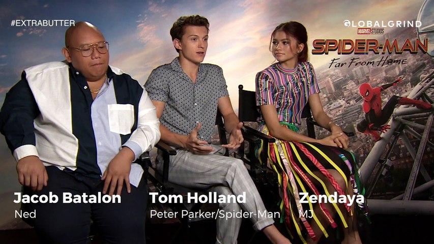 Tom Holland & Zendaya Talk Spider-Man, Euphoria & Internet Chatter   Extra Butter