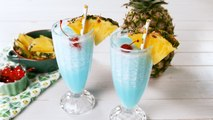 Rum Blue Hawaiian Coolers Taste Like A Tropical Vacation