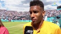 """ATP - Queen's 2019 - Félix Auger-Aliassime s'est offert Tsitsipas : """"Je veux aller jusqu'au bout"""""""