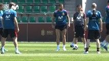 La Selección Española entre a tres días de su primer partido